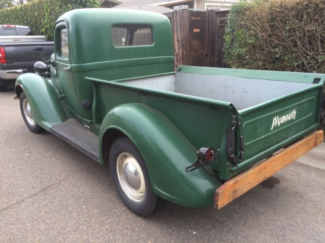 1937 Chevy Truck >> 1937 Plymouth PT 50 Pickup pick up Truck Dodge rat shop vintage 1/2 ton for sale in Oceanside ...