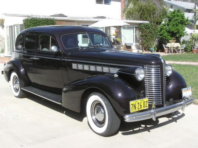 1938 buick century series 60 touring sedan restored calif