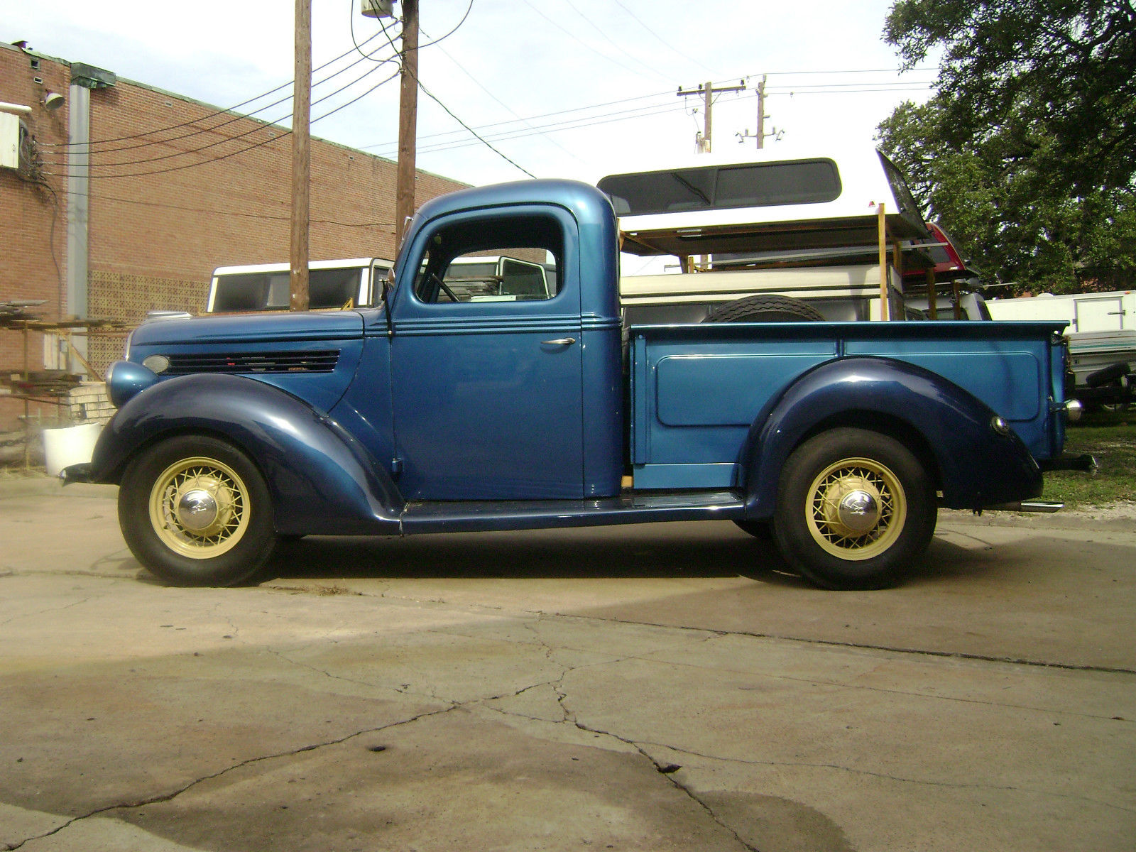 1938 Ford Pickup Truck For Sale In Baytown Texas United