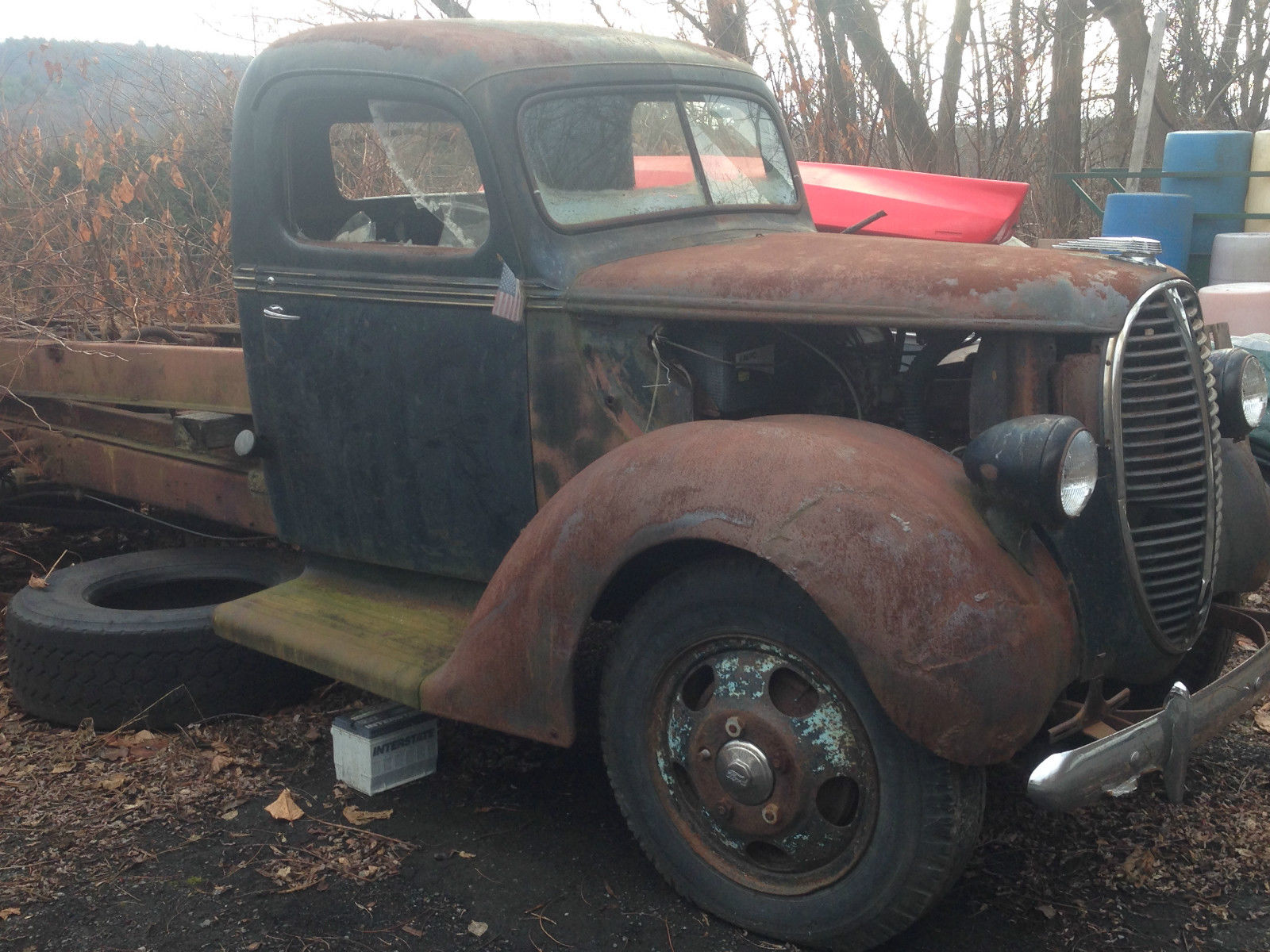 1938 Ford Truck Rat Rod Barn Find Patina Fan For Sale In 1955 F100 Trucks Other Pickups