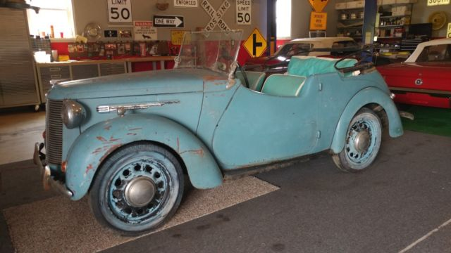 1939 Austin 8 Convertible Tourer 4 Seater Extremly Rare Pre War Saloon BARN FIND