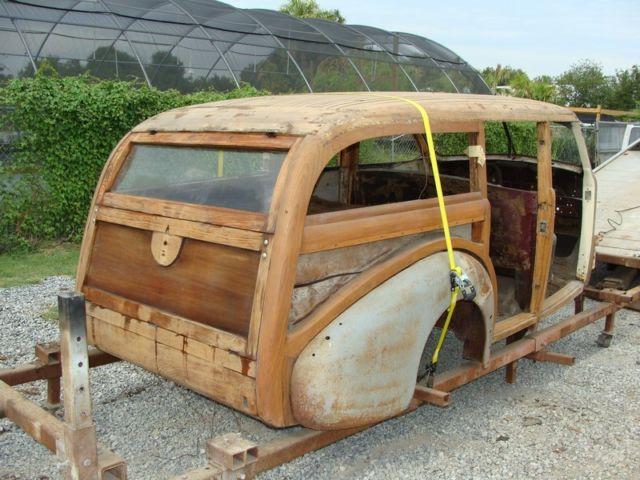 Cadillac Parts Newark >> 1939 CADILLAC WOODY STATION WAGON- JOS. WILDANGER BUILT. ONE OFF for sale in Dallas, Texas ...