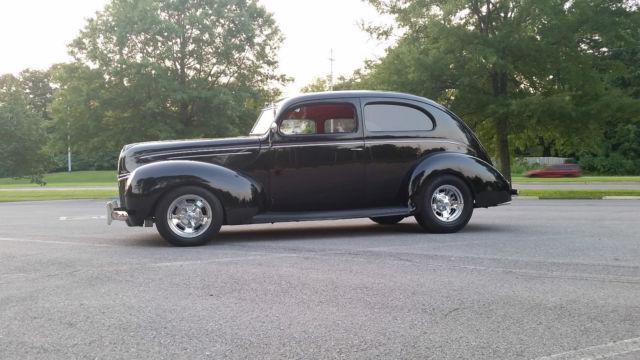 1939 ford deluxe 2 door sedan street rod driver sbc for 1939 ford deluxe 4 door sedan