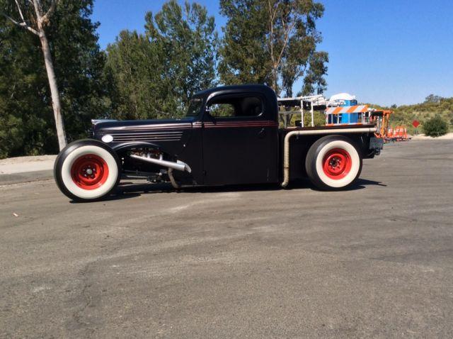 1939 ford pickup rat rod truck hot rod magazine car. Black Bedroom Furniture Sets. Home Design Ideas