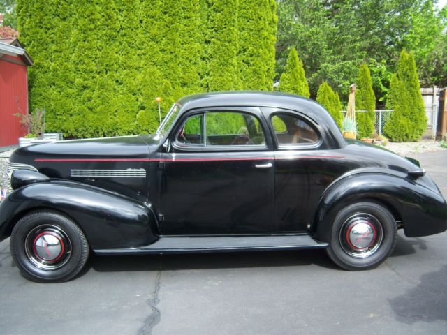 1939 Master 85 Chevrolet 2 Door Business Coupe For Sale