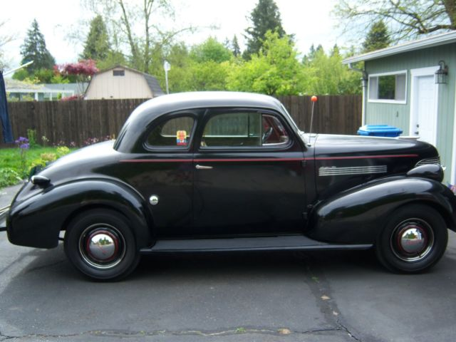 1939 master 85 chevrolet 2 door business coupe for 1939 chevy 2 door sedan