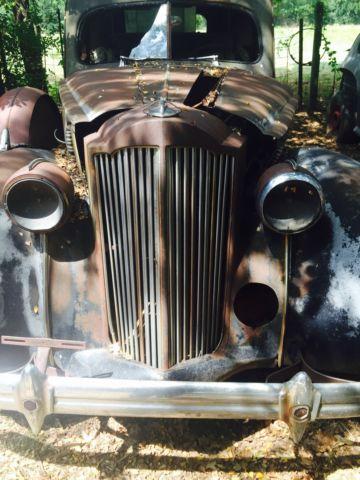 1939 packard ambulance hearse combo ratrod hotrod restomod for sale