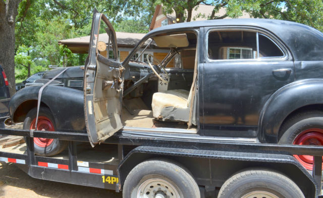 1940 cadillac sedan for sale mostly complete and almost no rust. Black Bedroom Furniture Sets. Home Design Ideas