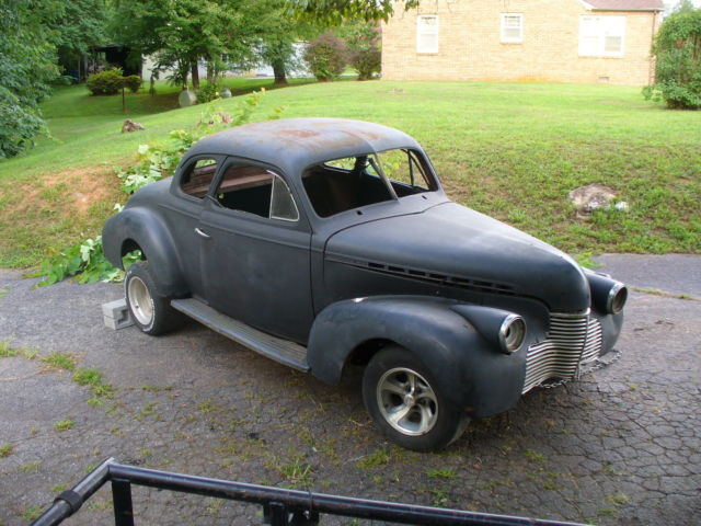1940 CHEVROLET COUPE PROJECT RAT ROD HOT ROD GASSER for sale in