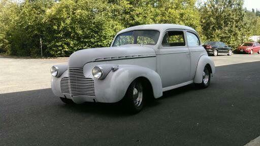 1940 chevy street rod project 2 door sedan hot rod no rat rod for 1940 chevy 2 door
