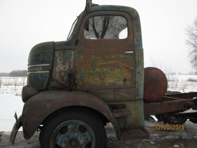 1938 Ford Truck >> 1940 dodge coe truck 1938 1939 1941 1942 rat rod stub nose cab over patina for sale in Starbuck ...