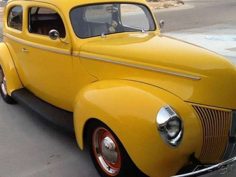 1940 ford 2 door deluxe rebuilt 383 stroker 700r4 for 1940 ford deluxe two door business coupe