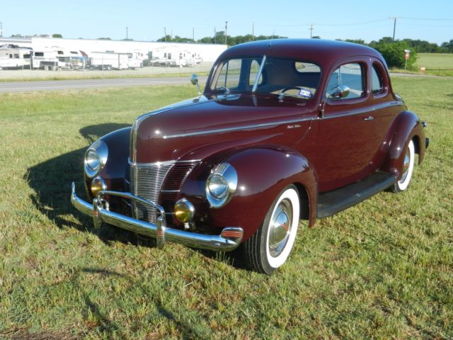 1940 Ford Deluxe Coupe Restoration With Hidden