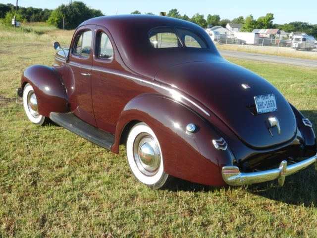 Ford Deluxe Coupe Restoration With Hidden Functionality For Road Worthiness