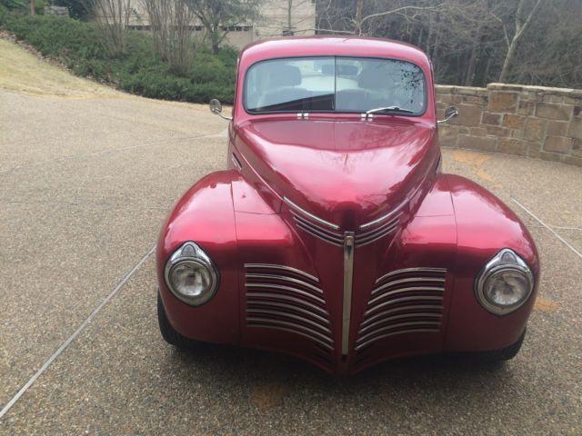 1940 plymouth 2door sedan candy apple red street rod for 1940 plymouth 2 door sedan