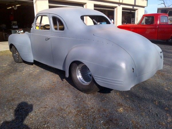 1940 Plymouth Coupe BBC Blower Gasser Pro Street Project ...