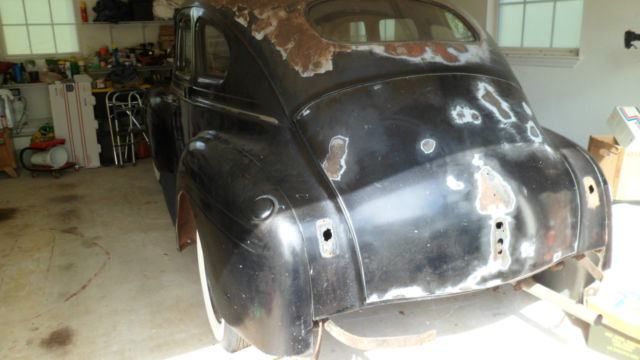 1940 Plymouth P10 Deluxe Base 3 3l 4 Dr Sedan For Sale In