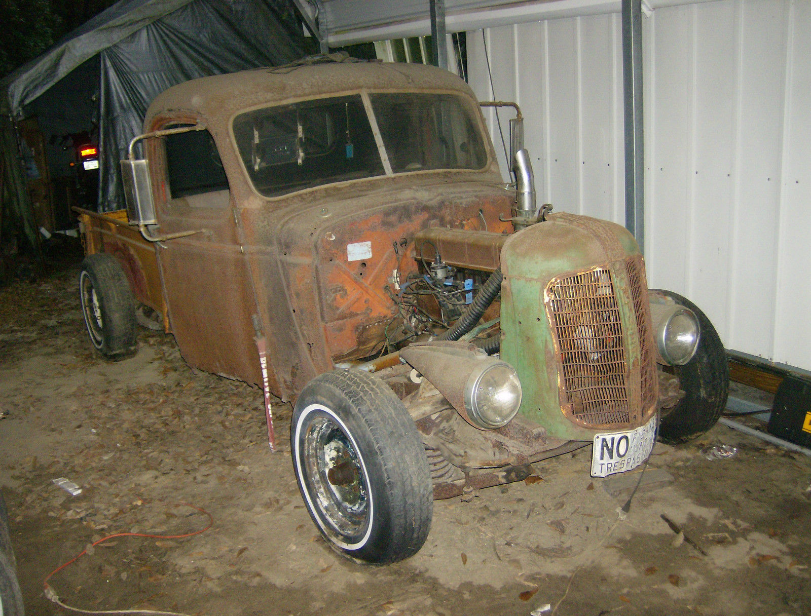1941 1953 Chevrolet Rat Rod Hot Barn Find Pickup Project 40s Ford 3 4 Ton Truck 50s Patina For Sale In Rincon Georgia United States