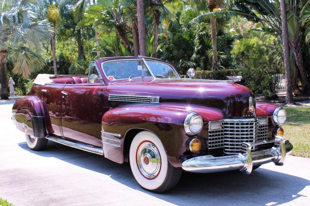 1941 Cadillac Series 62 4 Door Convertible  Video Inside