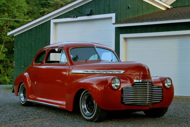 1941 chevrolet 2 door business coupe hot rod mild kustom for 1941 chevrolet 2 door sedan