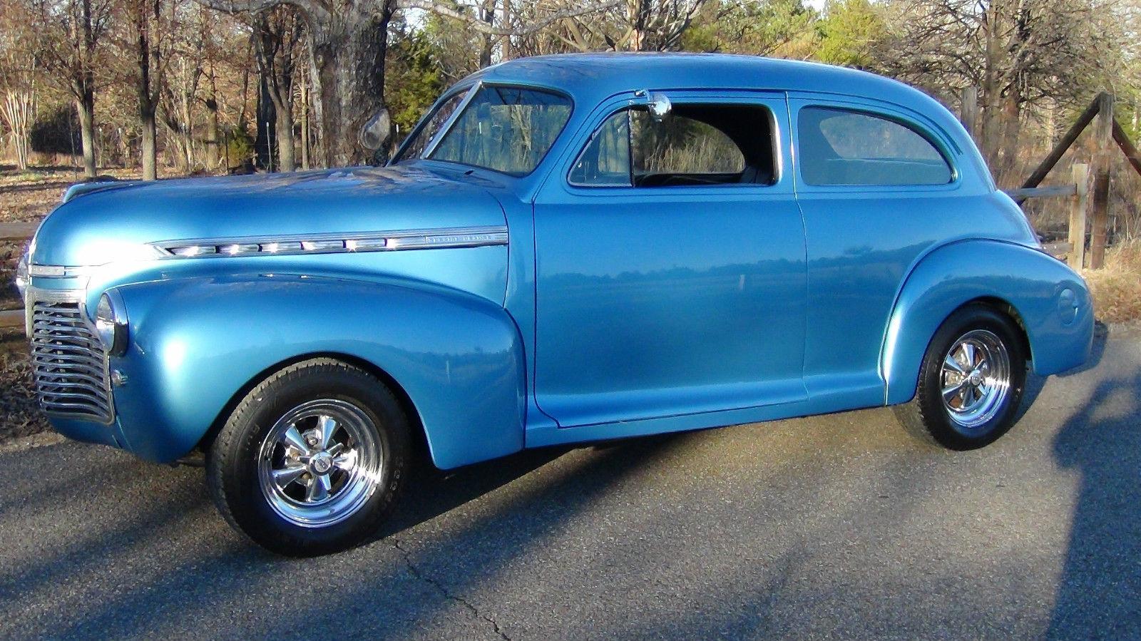 1941 Chevrolet 2 Door Special Deluxe Monte Carlo Frame PS PB Tilt Shaved Doors & 1941 Chevrolet 2 Door Special Deluxe Monte Carlo Frame PS PB Tilt ...