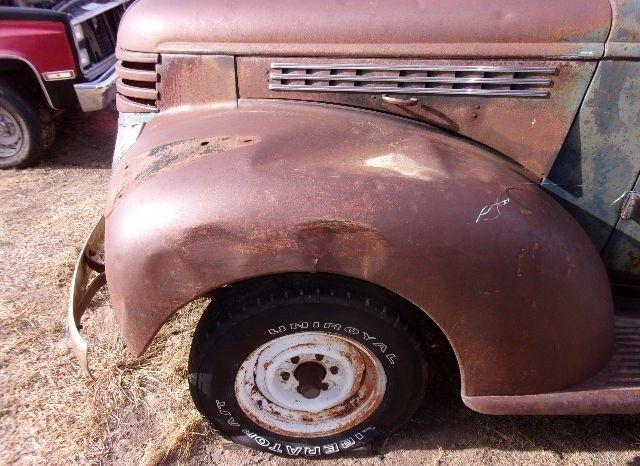 Chevrolet Pickup Vintage Chevy Truck Rat Rod Restoration Project on Chevrolet 235 Engine