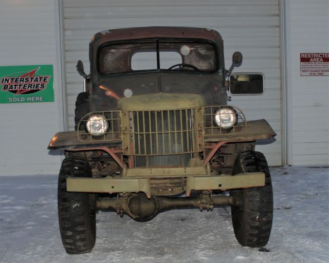 1941 Dodge WC 12 1/2 Ton Military Power Wagon Driver ...
