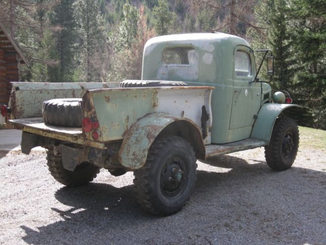 1941 Dodge WC12 WWII 1/2 ton 4x4 for sale in Post Falls ...