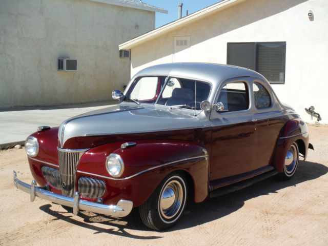 1941 ford coupe hot rod 350 ac power windows disc brakes fun to drive for sale in yucca. Black Bedroom Furniture Sets. Home Design Ideas