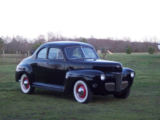 1941 ford coupe old school hot rod 283 chevy v8 no reserve. Black Bedroom Furniture Sets. Home Design Ideas