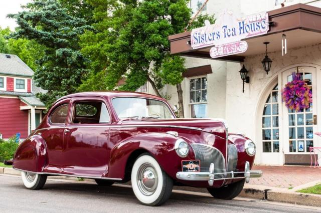 1941 Lincoln Zephyr Two Door V12 For Sale Photos Technical
