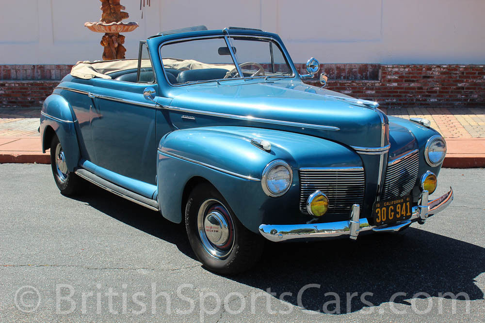 1941 mercury convertible amazingly solid car runds and drives perfect 1940 ford for sale in san. Black Bedroom Furniture Sets. Home Design Ideas
