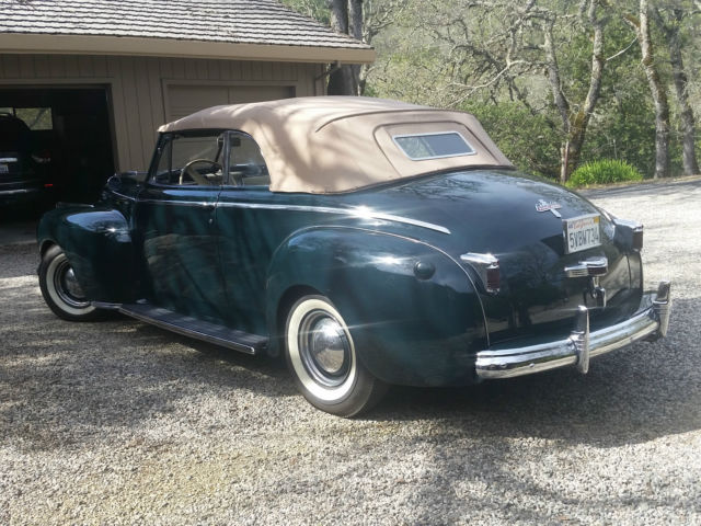 1941 newyorker convertible for sale by second owner for sale in sonoma california united states. Black Bedroom Furniture Sets. Home Design Ideas