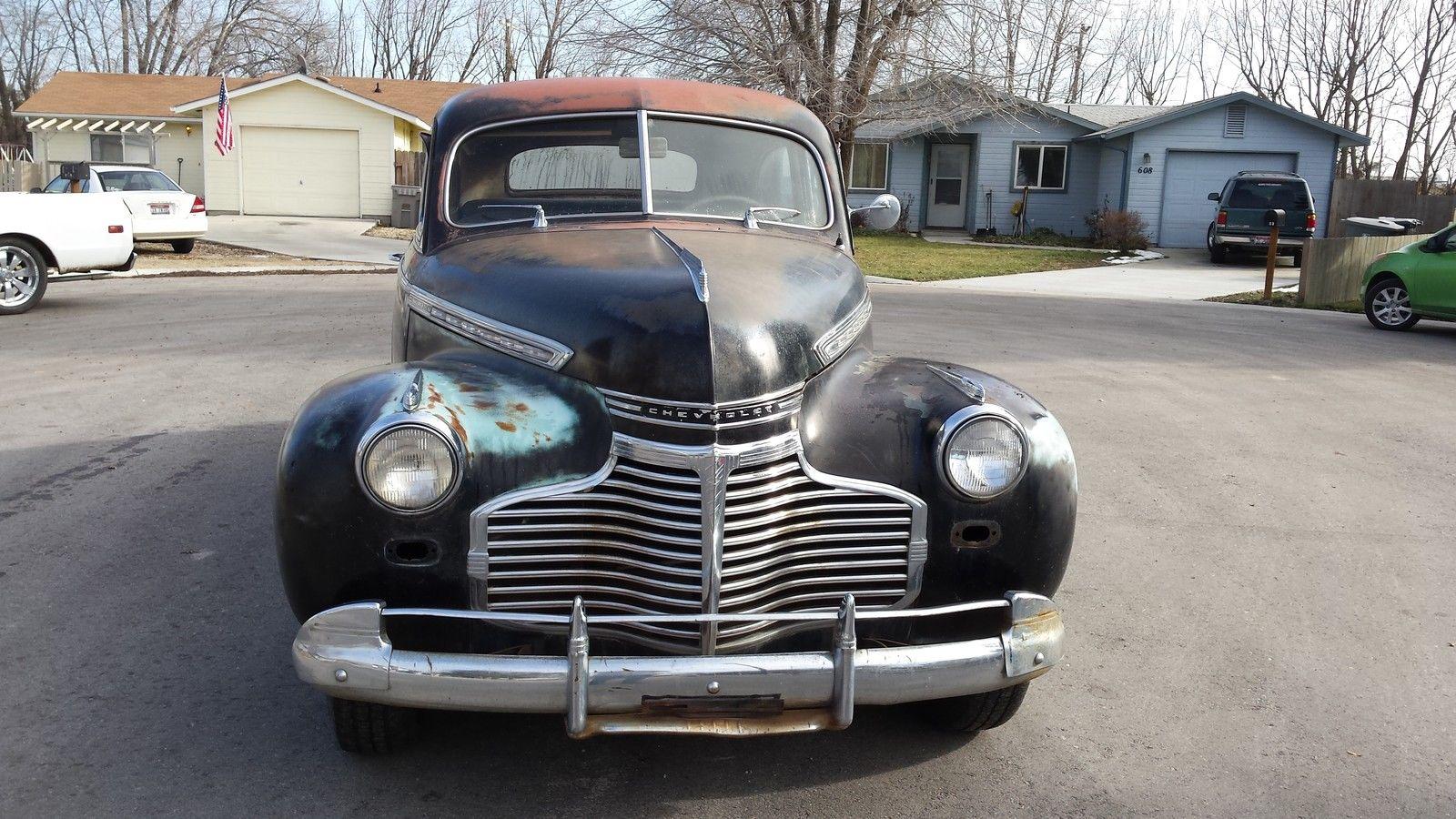 1941 Special Deluxe 2 Door Sedan Completely Original For Sale In Plymouth Chevrolet Other