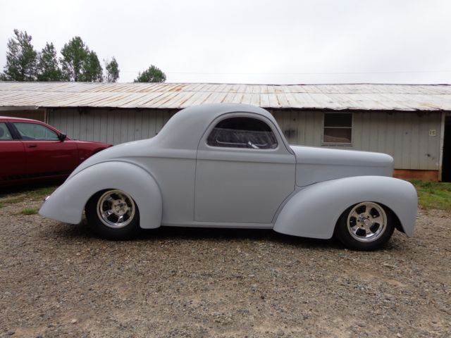 1941 Willys New Fiberglass Body New Tube Chassis Street