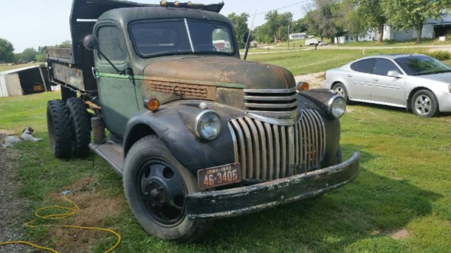 1942 Chevy Dump Truck For Sale Photos Technical Specifications