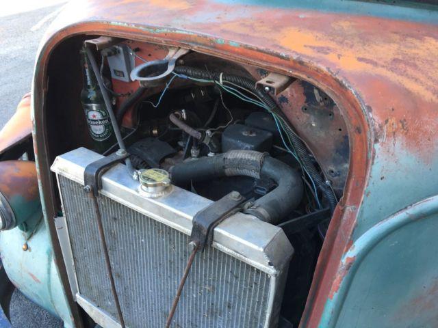 Cummins Diesel Engines >> 1942 Ford COE 12 Valve Diesel Hot Rod Rat Rod Pickup Truck Rare