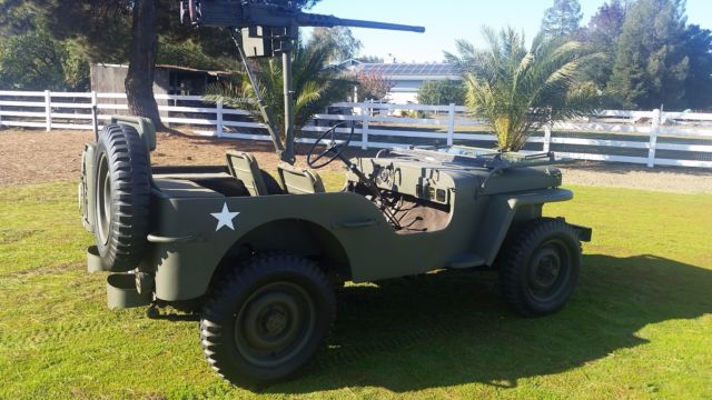 1942 ford GPW military jeep