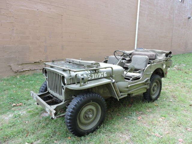 1942 Ford Gpw Willys Mb Jeep Super Nice Only 5k Mi