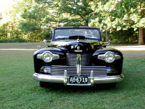 1942 Lincoln Continental Cabriolet Convertible Rare 67 Of