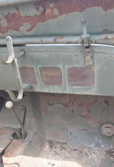 1942 Willys Mb Script Original Wwii Military Jeep Data