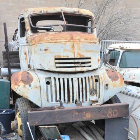 1943 Chevrolet G7123 COE Flat Bed Truck, 1 1/2 Ton, 4x4 ...