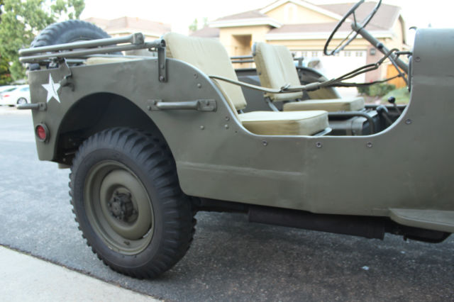 1944 willys mb ww2 jeep wwii restored not ford gpw 1941 1942 1943 1945 for sale in san diego. Black Bedroom Furniture Sets. Home Design Ideas