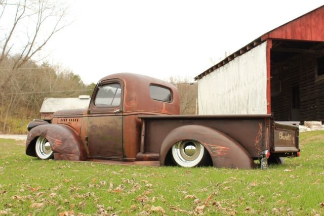 1946 Chevy Truck For Sale >> 1946 Chevy Custom RestoMod Rat Rod,LS1 V8,6 SPD,Air Ride,AC,PS,PDB,Patina TRUCK! for sale in ...