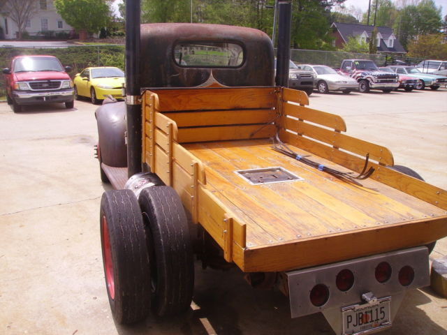 Chevy Truck Ton Dually Chevy Suspension Built Bb Air Bags Wood Bed
