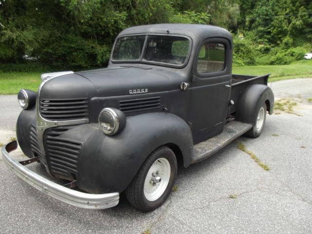 1946 Dodge Pick Up Truck Antique Vintage Hot Rat Rod Barn