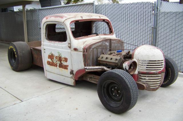 1946 Dodge Truck Body Drop W 345 Hemi Rolling Hot Rat Rod