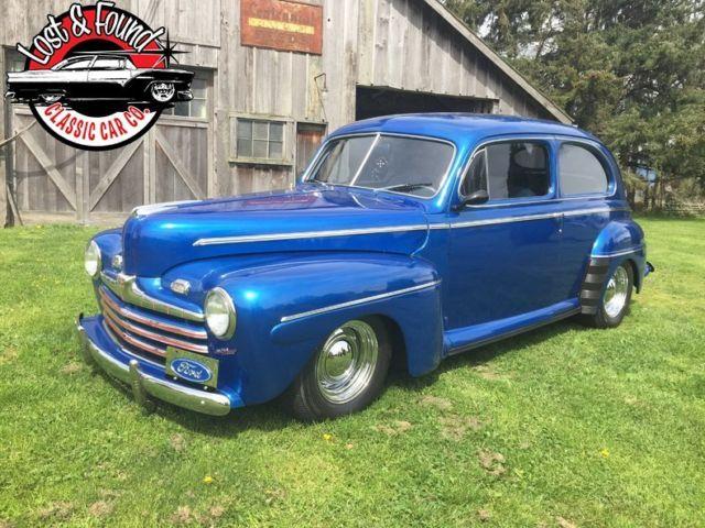 1946 ford 2 door sedan street rod for 1946 chevy 2 door sedan