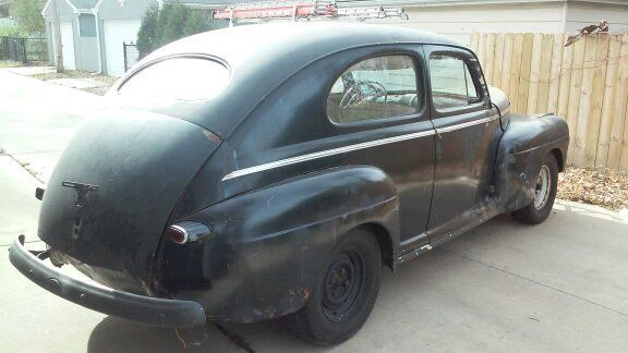 1946 ford two door sedan for sale in wood dale illinois for 1946 ford 2 door sedan