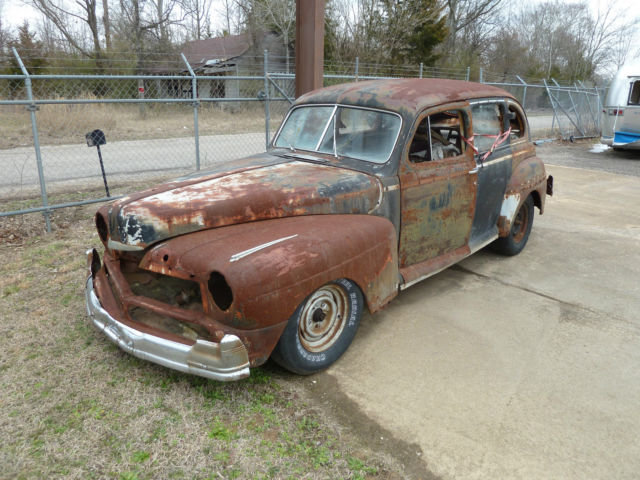 1946 mercury 4 door sedan rat hot street rod for sale in